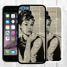 iPhone 6 Plus case Audrey Hepburn Beautiful Girl for iPhone 6 cover 5s 4s