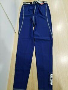 Tatami Nova Basic Mens BJJ Competition Spats Compression Pants - Navy Blue