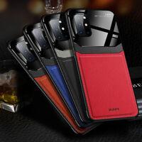 Für OnePlus Nord/ 8T 8 Pro Hülle Slim Leder Back Case Schutz Cover Handy Tasche