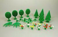 LEGO Konvolut Bäume Tannen Blumen Pflanzen ca. 28 Teile