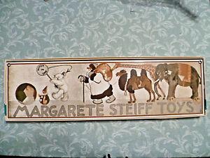 Steiff Enamel Sign - Steiff Boutique  - Margaret Steiff Toys Enamel Sign