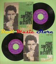 LP 45 7'' PINO DONAGGIO Come sinfonia Il cane di stoffa 1961 italy no cd mc*