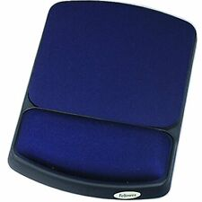 Fellowes Gel Wrist Rest , Mouse Pad Microban - Sapphire