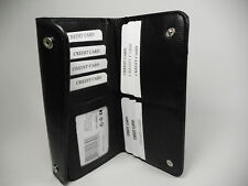 True Gear Black Leather Chain Wallet-For Deliverymen, Bikers,Truckers,etc.#1-239
