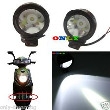 Motorcycle Spot Lamp LED Fog Head Indicator Light For Dirt Bikes Sports Scooter