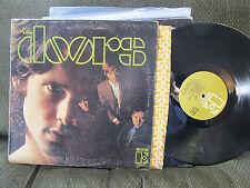 THE DOORS debut s/t EKS74007 tan gold label LP 1st '67 rare stereo first w/inner