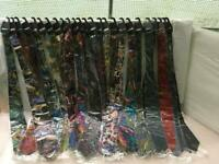 NEW  JOB LOT 25 x 100% PURE SILK TIES (VARIOUS COLOURS)