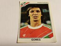 FIGURINA PANINI MEXICO 86 n°398 GOMES PORTUGAL rec WORLD CUP