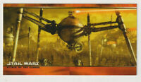 Star Wars Episode 2 Widevision Promo Card #P1 2002