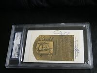Sandy Koufax Autographed HOF Cut PSA Certified Encapsulated