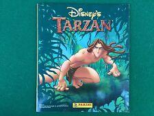 ALBUM Figurine Sticker Walt Disney TARZAN Ed. Panini 1999 COMPLETO 100% + Poster