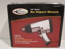 "K INTERNATIONAL 3/4"" DRIVE AIR IMPACT WRENCH KTI-81772A FREE SHIPPING NEW IN BOX"