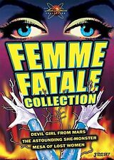 Femme Fatale Collection. 3 DVD Box. Classic 50s Flicks. Brand  New In Shrink!