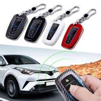 Car Remote Key Case Fob Cover For Toyota Camry Corolla C-HR CHR Prado RAV4 Prius