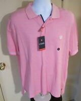 Men's Large Chaps Natural Stretch Short Sleeve Polo Shirt - NWT