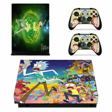 Rick And Morty  Xbox OneX Skin for Xbox OneX Console and Controllers