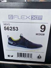 FootJoy Men's Fj Flex Xp Golf Shoes Black 9 Us