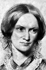 New 5x7 Photo: English Poet and Novelist Charlotte Bronte, Author of Jane Eyre