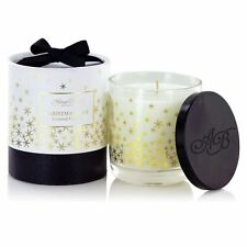 Ashleigh & Burwood Special Edition Scented Candle Christmas Spice Glass Gift Box