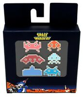 Numskull Games Taito Video Game Retro Space Invaders 6 Pack Enamel Pin Badge Set