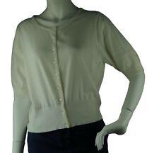 035e81e132e352 Boden kurze Bluse Pullover Strickjacke Damenpullover Gr 44 UK 18 Baumwolle //0605