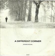 45 TOURS 2 TITRES /  GEORGE  MICHAEL  A DIFFERENT  CORNER  A3