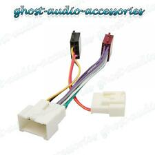 DACIA SANDERO equipo estéreo para coche Arnés Cableado ISO adaptador GOMAS