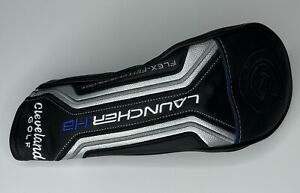 CLEVELAND LAUNCHER HB 3W FAIRWAY WOOD HEADCOVER - Black Golf Head Cover GREAT