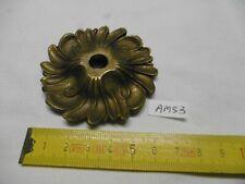 Cache douille coupelle en bronze H : 12 mm Ø 68 mm trou central de 10 mm (AM53)