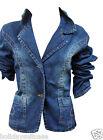 New girls flattering fashionable denim jacket size age 14/15/16/17 Years