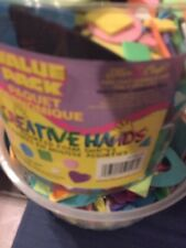 New listing Assorted Craft Foam Shapes Creative Hands Bucket Tub Value Packs. Assorted.