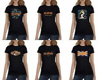 Def Leppard Women's Black T-Shirt (S-XL) New