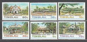 Tokelau - Post Yvert 124/9 MNH Architektur