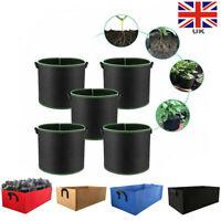 5PC Potato Grow Bags Tomato Plant Home Garden Vegetable Planter Container Pot UK