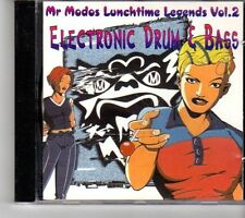 (FH467) Mr. Modos Lunchtime Legends Vol. 2 - Electronic Drum & Bass - CD