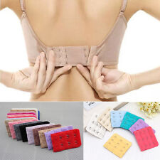 5pcs Women Bra Accessory Bra Extenders Strap Extension 3 Hooks Useful