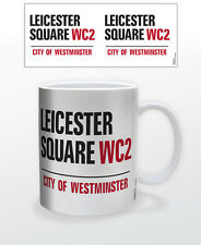 LONDON-LEICESTER SQUARE 11 OZ COFFEE MUG TEA CUP UK ENGLAND BRITAIN EVENTS POP!