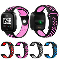 Replacement Sport Silicone Classic Wrist Bands Fitbit Versa/Lite/Special Edition