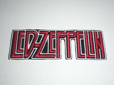 LED ZEPPELIN IRON ON EMBROIDERED PATCH
