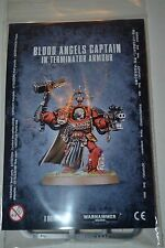 Warhammer Blood Angels Captain in Terminator Armour Karlaen NEW 40K Armor WN20