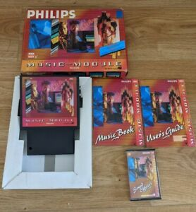 Philips Music Module MSX2 MSX 2 - Boxed Complete With Manuals & Software