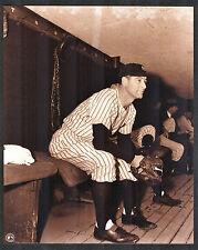 Lou Gehrig New York Yankees Dugout Pose 8x10 Photo Reprint