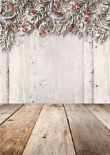 Christmas Background Photo Studio Props Vinyl Baby Photography Backdrops 5x7FT