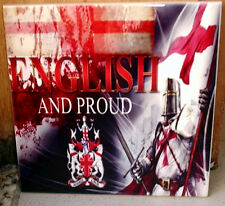 English and Proud - England shield and FLAG beautiful CERAMIC TILE
