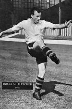 Football Photo>DOUG FLETCHER Bury 1950s