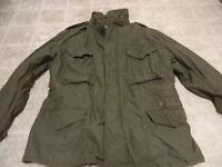 VINTAGE ORIGINAL U.S ARMY VIETNAM M65 FIELD JACKET 1974 GREEN GREAT COND M/S