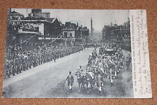 Vintage Postcard: King Edward VII, 1902, State Coach from the Canadian Arch