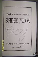 "JOHN SHIRLEY - SPIDER MOON - LETTERED ""PC"" - Cemetery Dance Pub - Sold Out & OOP"
