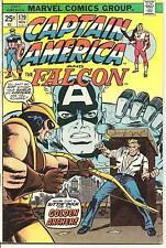 Captain America # 179 Nov 1974 Marvel The Falcon Hawkeye Steve Englehart