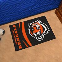 "NFL - Cincinnati Bengals Durable Starter Mat - 19"" X 30"""